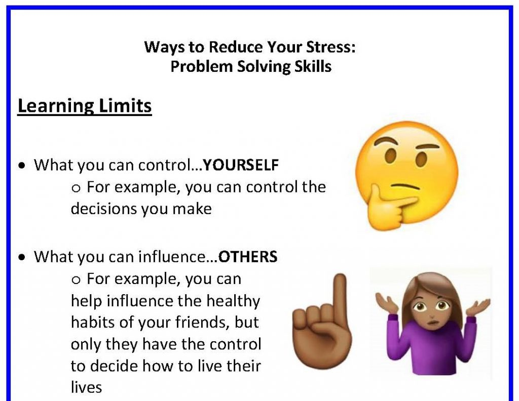 Ways to Reduce Your Stress Poster final thmb