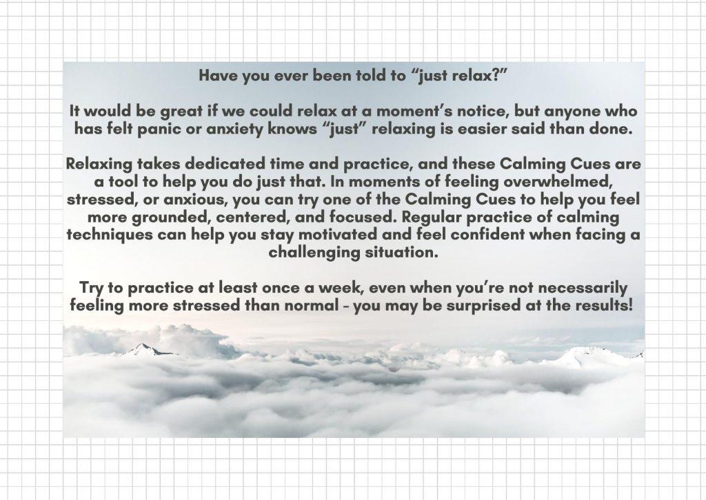 Calming Cues